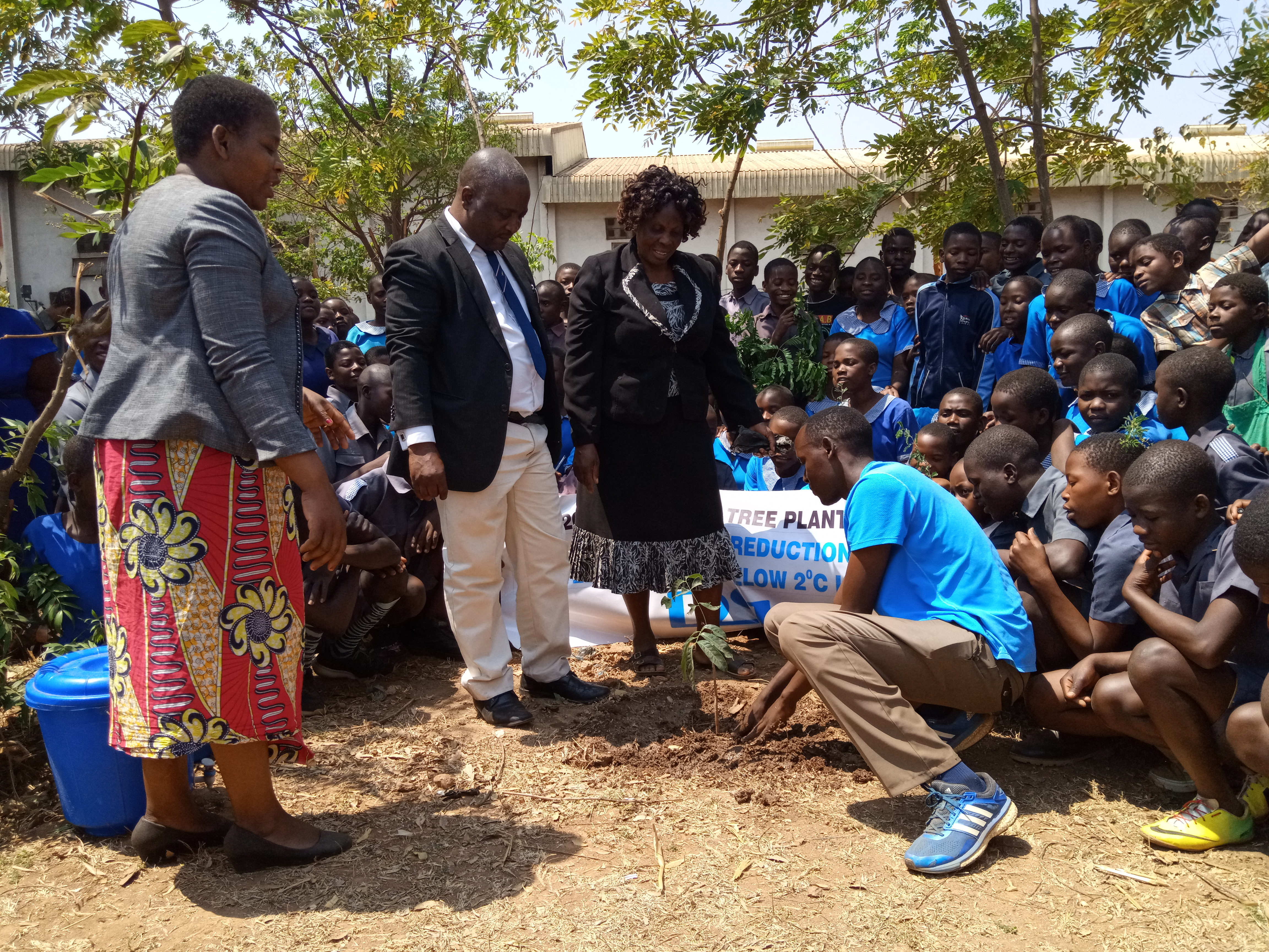 Kenyan Athlete Embarks on Worldwide Tree Planting Campaign: Plants Trees in Malawi